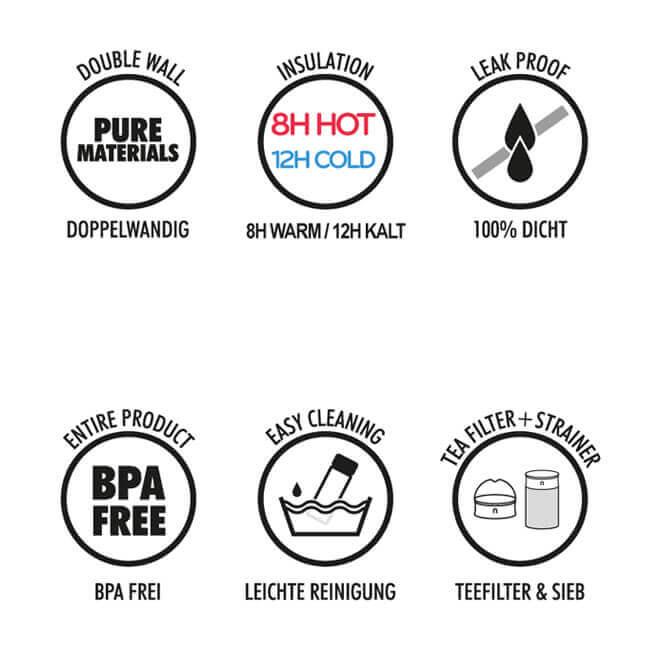 Thermosflasche Vorteile