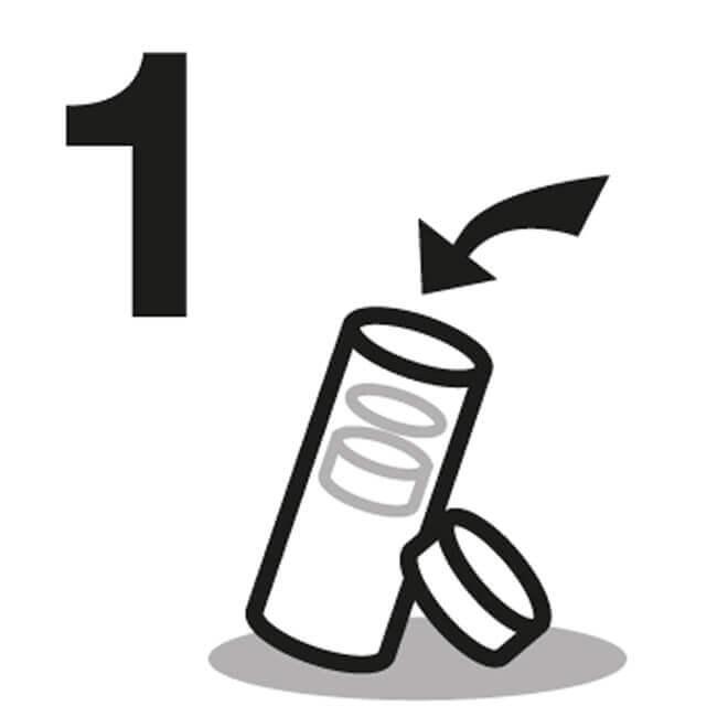 Manuel n° 1 pour gobelet isotherme