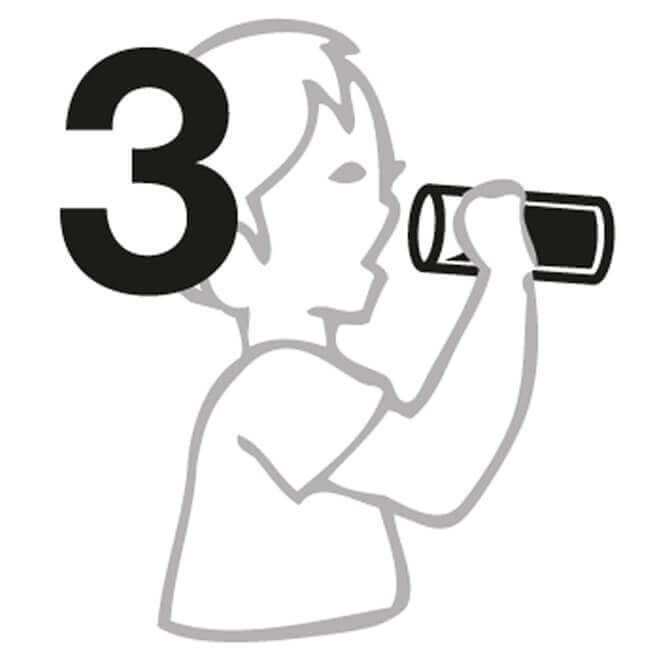 Manuel n° 3 pour gobelet isotherme